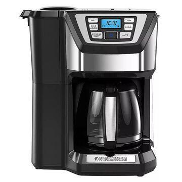 Black & Decker Mill & Brew Programmable Coffee Maker, 12 CUP