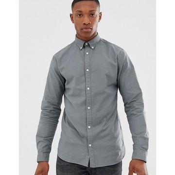 Jack & Jones Premium slim fit stretch oxford shirt in light green