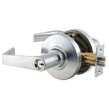 Lever Lockset,Mechanical,Entrance,Grd. 2
