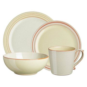 Denby Heritage Veranda 16-Piece Dinnerware Set, Service for 4