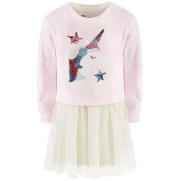 Epic Threads Little Girls 2-Pc. Unicorn Sweatshirt & Tutu Dress Set, Created For Macy's