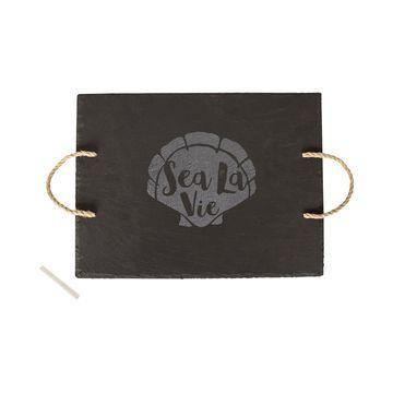 Sea La Vie Slate Serving Board