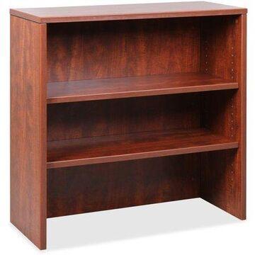Lorell Essentials Cherry Laminate Stack-on Bookshelf