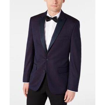 Ryan Seacrest Distinction Men's Modern-Fit Burgundy Paisley Jacquard Dinner Jacket, Created for Macy's