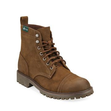 Men's Ethan Rugged Suede Combat Boots