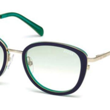 Emilio Pucci EP0047-O 92P Womenas Sunglasses Gold Size 52