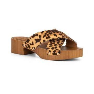 Olivia Miller Women's Coco Plum Slide Clog Sandals Women's Shoes