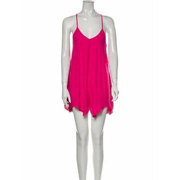 V-Neck Romper w/ Tags Pink