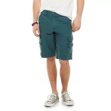 Men's Urban Pipeline Stretch Fine Faille Ultra Flex Cargo Shorts, Size: 28, Dark Blue