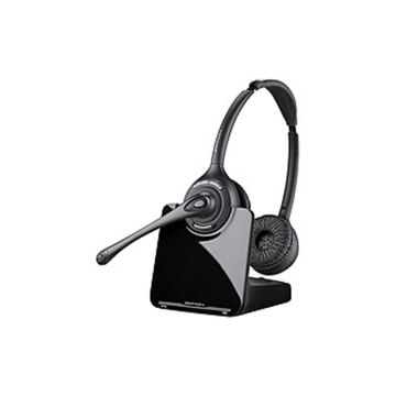 Plantronics CS500 XD SERIES 88285-01 CS520-XD Over-the-head Headset - Binaural - 900 MHz - Noise-Cancelling Microphone