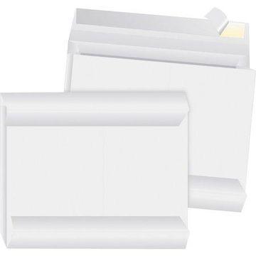 Business Source, BSN65804, Tyvek Side-openning Envelopes, 100 / Carton, White