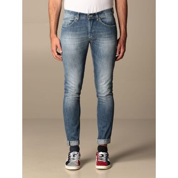 Dondup low-waist jeans in used denim