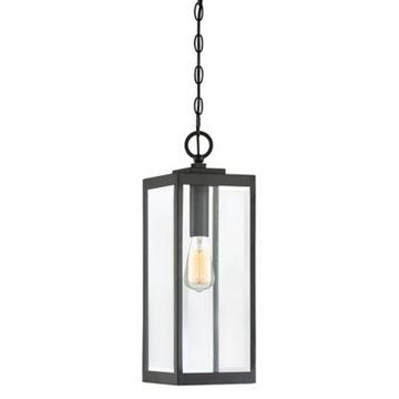 Quoizel Westover Outdoor Hanging Lantern in Earth Black