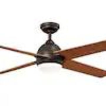 allen + roth Trenton 21-in Brushed Brass LED Indoor Ceiling Fan with Light Kit and Remote (4-Blade)