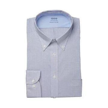 Izod Men's Regular Fit Stretch Cool Fx Cooling Collar Dress Shirt - -