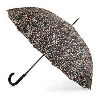 totes 50th Anniversary NeverWet Auto Open Walking Stick Umbrella