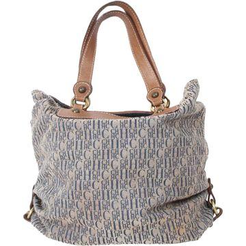 Carolina Herrera Beige Cloth Handbags