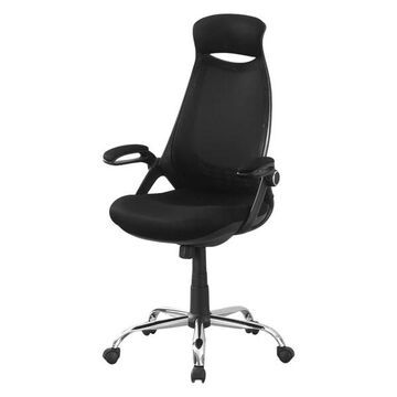 Monarch Adjustable High Back Office Chair in Black