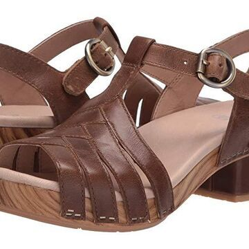 Dansko Mara (Taupe Burnished Calf) Women's Shoes