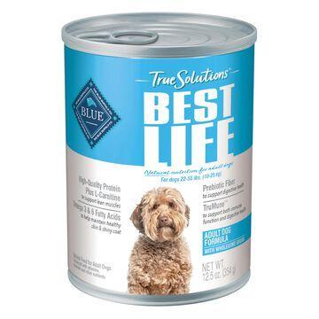 Blue Buffalo True Solutions Best Life Natural Chicken Recipe Medium Breed Adult Wet Dog Food