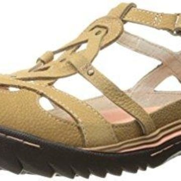 Jambu Women's Spain Walking Shoe, Oatmeal, 6 M US