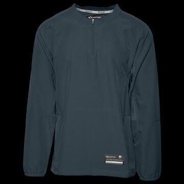Easton Mens Easton Fuze Jacket - Mens Charcoal Size S
