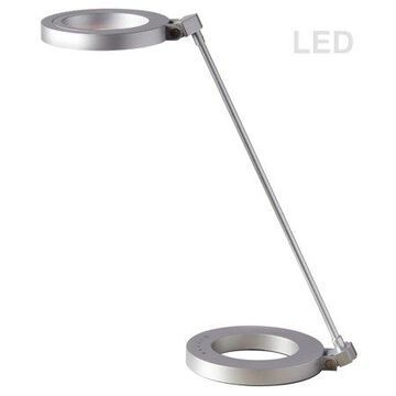 Dainolite LED Desk Lamp - Silver