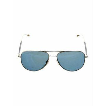Aviator Tinted Sunglasses Silver