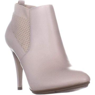 Alfani Womens Steviee Leather Closed Toe Ankle Fashion Boots