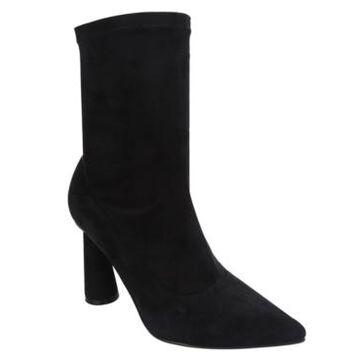 Cape Robbin Women's Duero High Heel Slip On Booties Women's Shoes