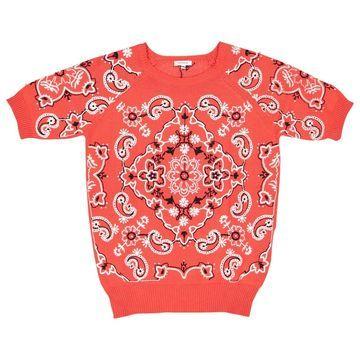 Manoush Red Cotton Knitwear
