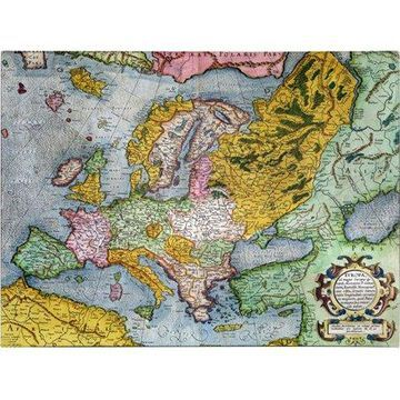 Trademark Art 'Europe In the 1590's' Canvas Art by Gerardus Mercator