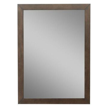 Legion Furniture Tristan Mirror, Antique Coffee, 24