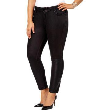 William Rast Womens Plus Skinny Pants Velvet Skinny