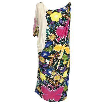 Roberto Cavalli Multicolour Viscose Dresses