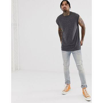 Another Influence cap sleeve tank