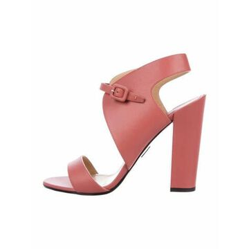 Leather Sandals Pink