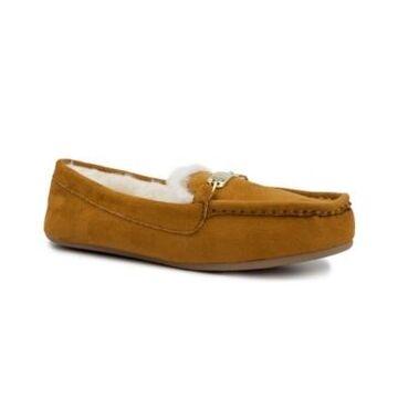 London Fog Women's Lisa Moccasin Slipper Women's Shoes