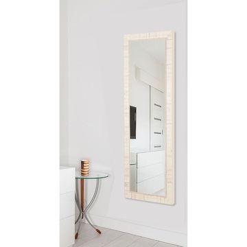 American Made Rayne Tuscan Ivory 25 x 63-inch Full Body Mirror - A/N - 62.5