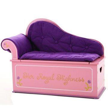Wildkin Princess Fainting Couch w/ Storage