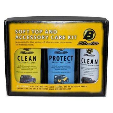 Bestop Cleaner And Protectant Pack