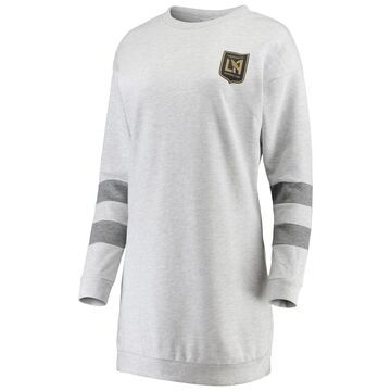 LAFC ZooZatz Women's Sweatshirt Dress - Gray