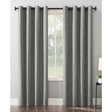 Sun Zero Kline Blackout Grommet Curtain Panel, 52