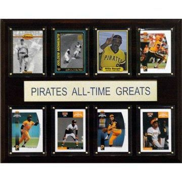 C&I Collectables MLB 12x15 Pittsburgh Pirates All-Time Greats Plaque