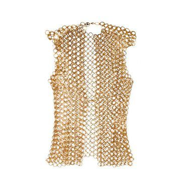 Paco Rabanne - Chainmail Top - Gold