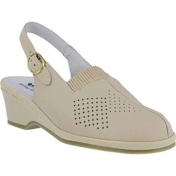 Spring Step Women's Gina Beige Leather