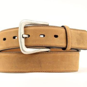 N2450044-50 Mens Smooth Leather Belt, Brown - Size 50