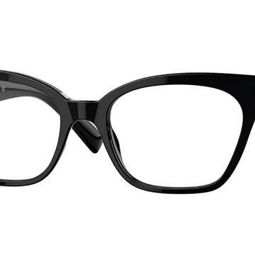 Versace VE3294F Asian Fit GB1 Womens Glasses Black Size 53 - Free Lenses - HSA/FSA Insurance - Blue Light Block Available