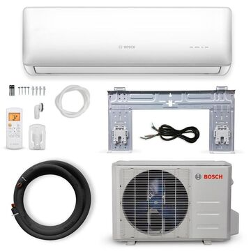 Bosch 27000-BTU 230-Volt 12.5 EER 2.25-Ton 1080-sq ft Ductless Mini Split Air Conditioner with Heater