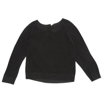 By Malene Birger Black Viscose Knitwear